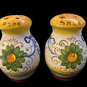 Italian Salt and Pepper Shakers